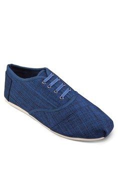 Linen Lace Up Sneakers