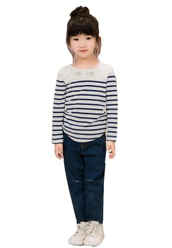 M.Latin blue Light Denim Jeans with Backpocket Stitching D3470KA78C25A7GS_1