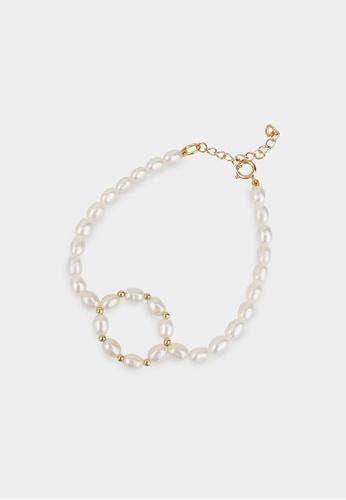 monojewelry MARRY-GO-ROUND PEARL BRACELET 5DF76AC7BE4DA6GS_1
