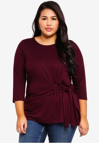 Junarose purple Plus Size Luan Blouse 874D1AA2863887GS_1