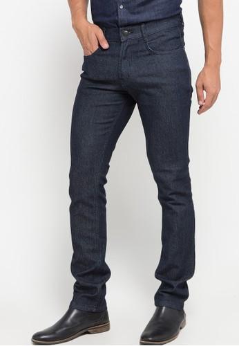 Jimmy Martin black Basic Slim Stretch Denim Pants A2795AAF82AAF1GS_1