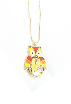 Quirky Hooter Necklace
