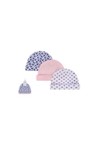 Little Kooma purple Baby Hats 3 Piece Pack 0-6 months 52303CH - 0805 D1261KCBF75191GS_1
