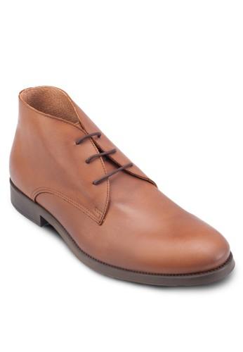 Oliver 三眼皮革短靴, esprit 京站鞋, 鞋