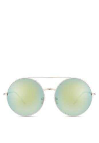 Veronesprit 尖沙咀ese 圓框太陽眼鏡, 飾品配件, 飾品配件