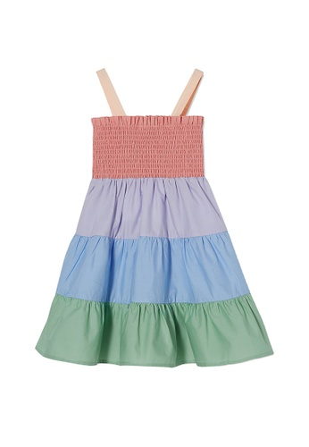 Cotton On Kids multi Mae Sleeveless Dress D4E78KAA78888DGS_1