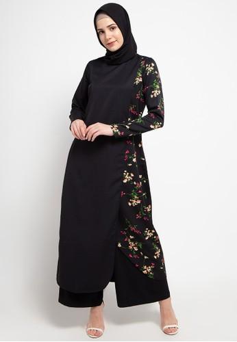 AZZAR black Ellie Maxi Dress C7C3EAAFC5A493GS_1