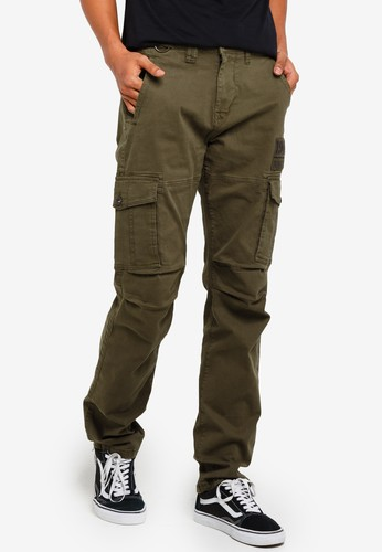threads by the produce green Stretch Cargo Pants 0F5BEAA368FDFFGS_1