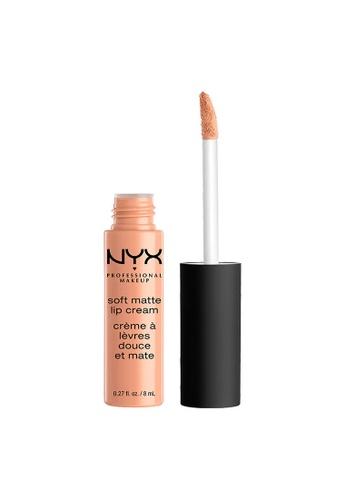 NYX Professional Makeup beige NYX Professional Makeup Soft Matte Lip Cream - CAIRO B9250BE5B2E7ACGS_1