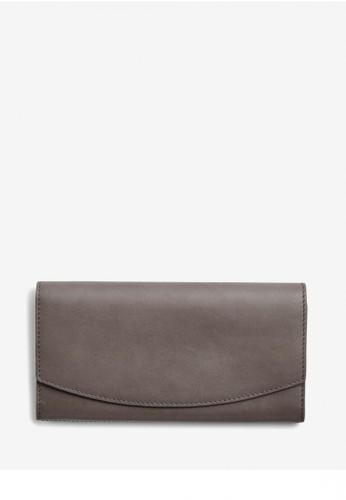 Skagen grey Skagen Continental - Leather - Flap Wallet - Dompet Skagen Wanita - SWS0261044 C3422AC6445564GS_1