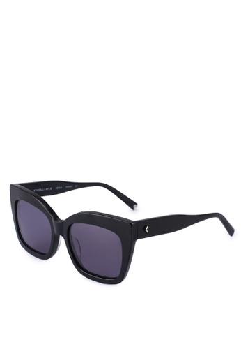 Kendall + Kylie black Keyla Sunglasses 2A258GL9561D86GS_1