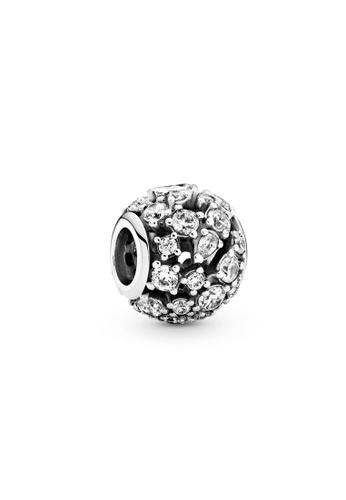 Pandora silver Sparkling Round Openwork Charm 67F57ACC09EB37GS_1
