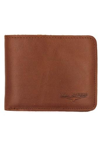 midzone brown Premium Genuine Leather Wallet MI949AC0SDY7MY_1