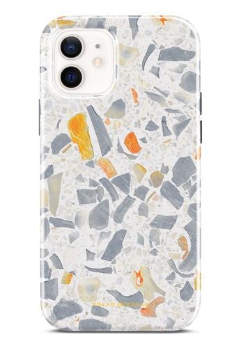 Polar Polar 灰色 灰色水磨石雙層光面手機殼 iPhone 12 Pro / iPhone 12 9198FAC1C4330FGS_1