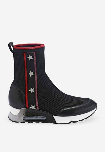 ASH black Liberty - Black Star elements Sneaker 8CFAFSHF5A55D5GS_1
