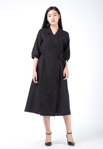 Simplify black Louise Outer Dress Black 9E335AA86BD403GS_1