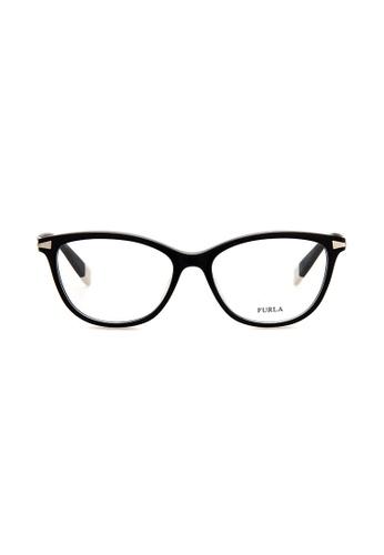 Furla Furla VFU025 Black Eyeglasses  FU454AC0RAM7MY_1