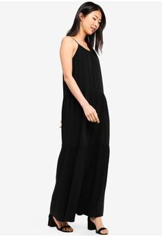 9d9341658 38% OFF ZALORA BASICS Basic A-Line Pleated Maxi Dress S$ 39.90 NOW S$ 24.90  Sizes XS S M L XL