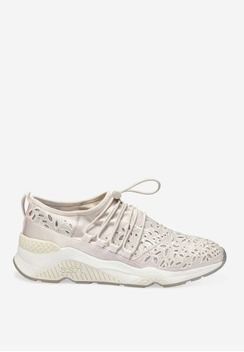 ASH beige Miss Flora - Clay Beads Embroidery Sneakers E7094SHA9B029CGS_1