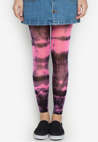 Leg Love multi Leg Love 40D Tie Dye Leggings LE656AA0JKG5PH_1