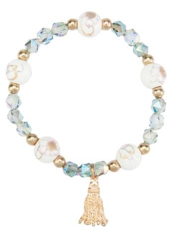 配色閃鑽珠子手esprit 門市鍊, 飾品配件, 飾品配件