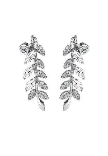 OUXI OUXI Leaf Earrings 21401 OU821AC89FDIMY_1