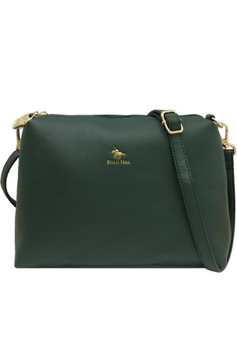 Polo Hill green Polo Hill Sling Bag Green 010CDACD901121GS_1