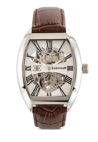 Holborn 三錶盤方形皮革錶, zalora 衣服評價錶類, 飾品配件