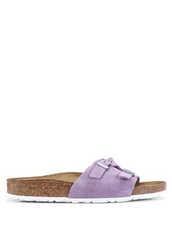 c1ea14329 Shop Birkenstock Vaduz Suede Leather Soft Footbed Sandals Online on ZALORA  Philippines