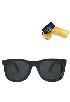 Skateboard Wood Frame Sunglasses