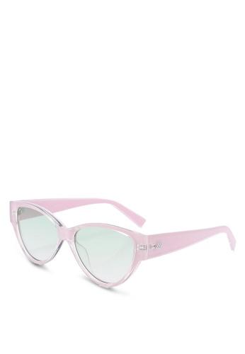 Le Specs pink Eureka 1902064 Sunglasses 34F2EGL1B3D56AGS_1