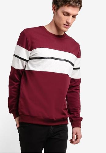 Murzaman red Y & M Sweatshirt MU501AA20NIPMY_1