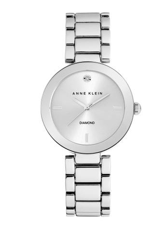 Anne Klein silver AK21M1363SVSV Analog Watch C222DAC6D1B2BFGS_1