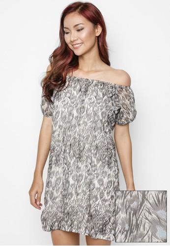 LOVADOVA INDONESIA grey Peacock Dress 00C62AA070961DGS_1