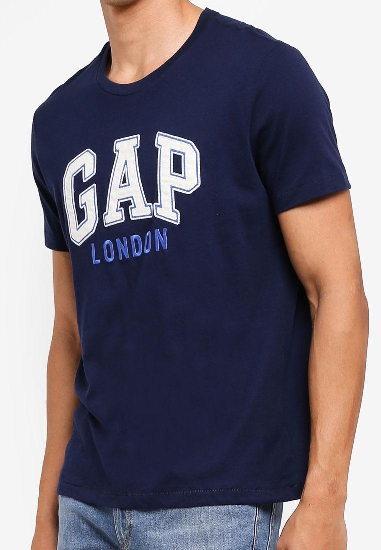 Navy GAP London T City Shirt Tapestry 1XwwBAYqc