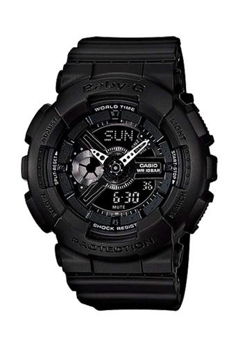 CASIO black Casio Baby-G Black Resin Watch 30431AC241EE4AGS_1