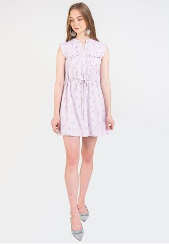 L'zzie pink LZZIE FLAMINGO DRESS - PINK CC2BBAADDE1FBEGS_1