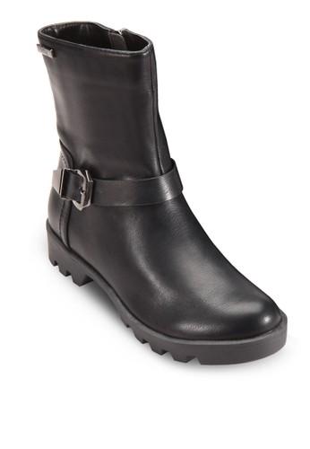 Cynthia 扣環帶短筒靴,esprit outlet 台灣 女鞋, 鞋