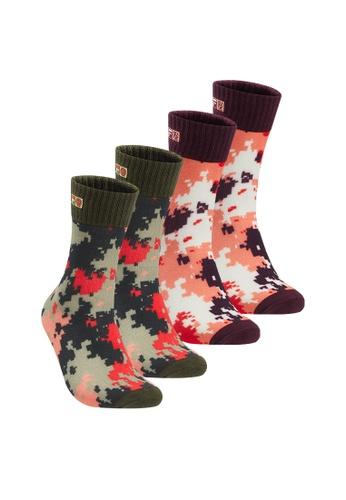 FILA green 4 Packs FILA x 3.1 Phillip Lim Middle Socks 93C89AA9FF8239GS_1