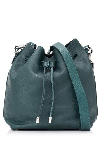 PROENZA SCHOULER green Pre-Owned Proenza Schouler Leather Bucket Bag E5DDEACC48B07CGS_1