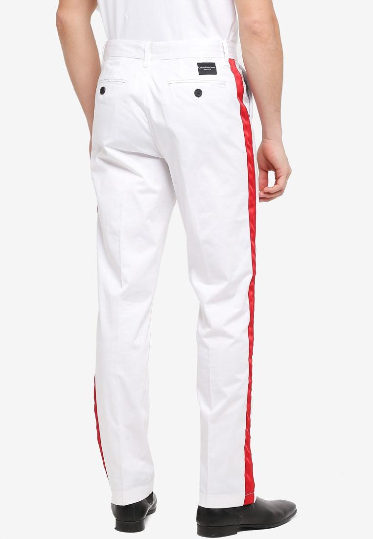 Chino Calvin White Klein Bright Galon Pants Klein Straight Calvin Jeans 5twOUZzq