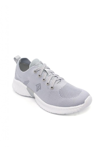 ONE UP grey Elysium Big Kid's Sneakers Shoes DD419KSFB5D2EAGS_1