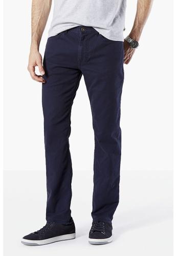 Dockers navy Dockers Standard Jean Cut Slim Tapered Pants Pembroke DO282AA53SXQSG_1