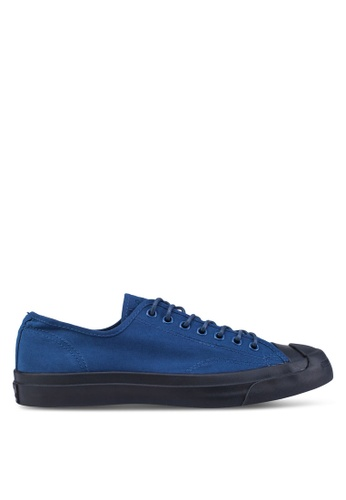 Converse blue and navy Jack Purcell LTT Ox Men's Sneakers CO302SH23YWMSG_1