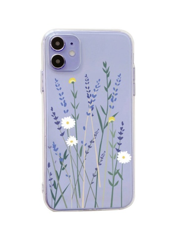 Kings Collection white Little Flower iPhone 12 Case (KCMCL2268) A97CCACDD5826AGS_1