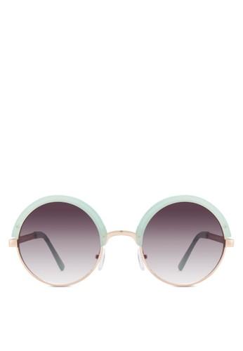 Sydney 半粗圓esprit台灣outlet框太陽眼鏡, 飾品配件, 飾品配件