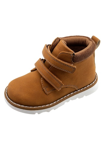 Chicco brown Ankle Boot Flok Kids Shoes AE8F3KS6F8A233GS_1