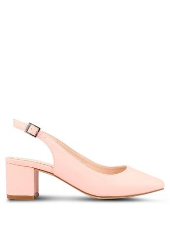 1764cb84b0e Buy nose square toe slingback block heel online on zalora singapore jpg  346x500 Square toe sling