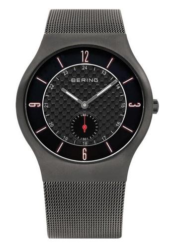 Bering grey Classic 11940-377 Black 40 mm Men's Watch F860EAC9ABE7CFGS_1