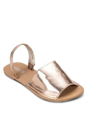 Maesprit holdingsrgarita 寬帶繞踝涼鞋, 女鞋, 鞋